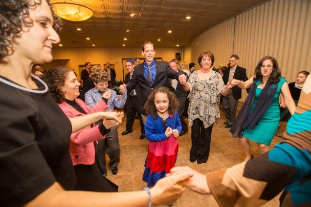 fun on dance floor