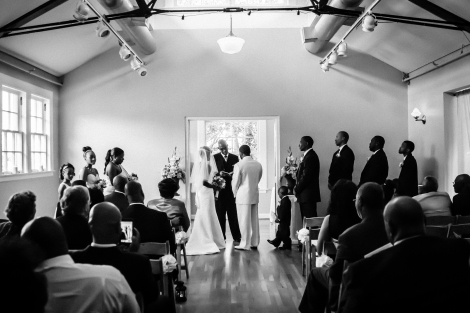 vows in b&w